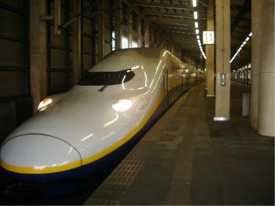 4年ぶりの新幹線。上越新幹線は実に8年ぶりだ。