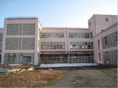 廃校後、一時期はレクレーション施設になっていたらしい。