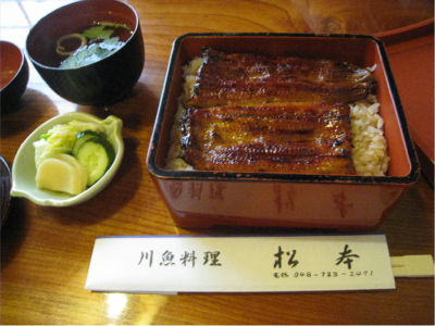 埼玉のこの辺って、うなぎ屋が多い気がするのは気のせい?